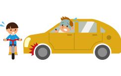 自動車事故・車両盗難のリスク