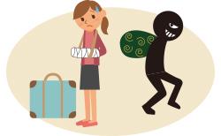 海外旅行中のリスク